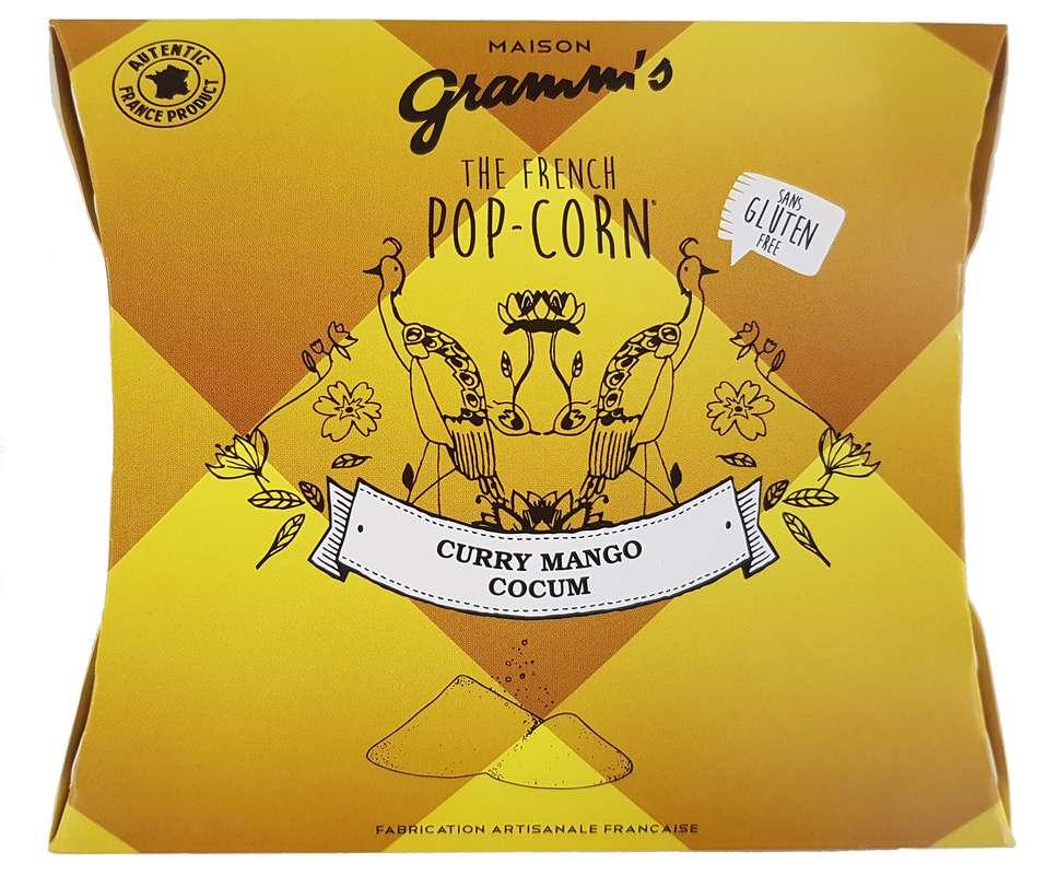 Étui de Pop-Corn caramel au Curry-Coccum, Maison Gramm's (30 g)