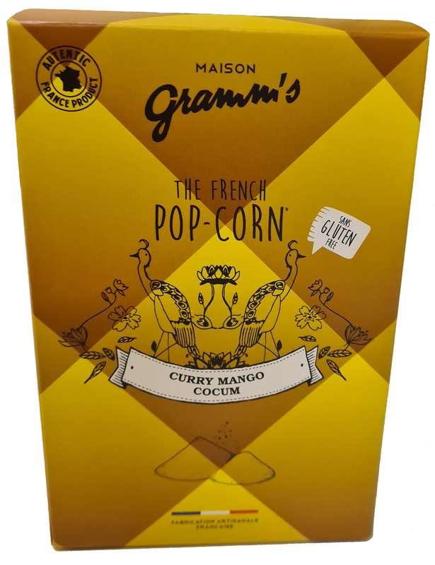 Étui de Pop-Corn caramel au Curry-Coccum, Maison Gramm's (100 g)