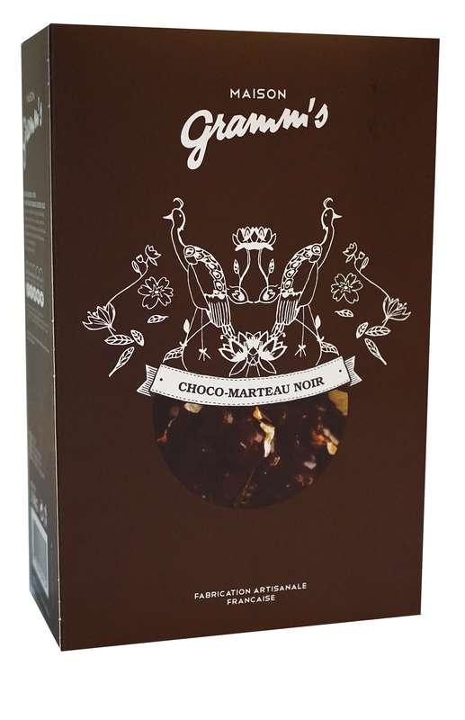 Étui de Choco-Marteau noir, Maison Gramm's (100 g)