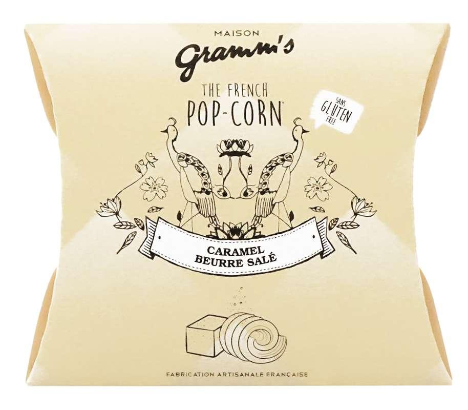 Étui de Pop-Corn caramel au beurre salé, Maison Gramm's (30 g)