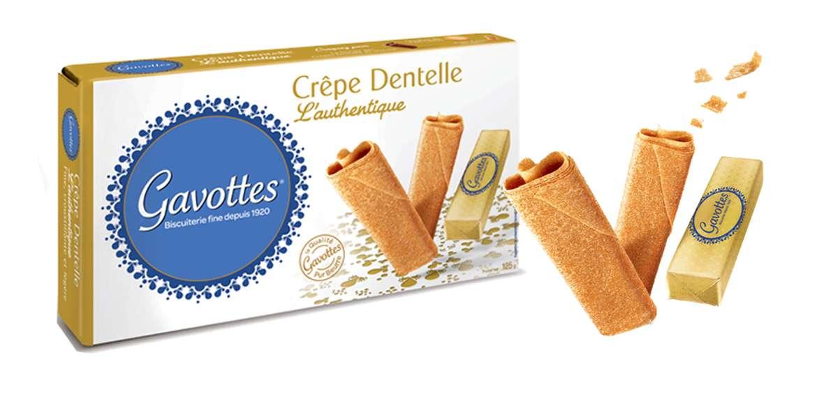 Crêpes dentelles nature, Les Gavottes (125 g)