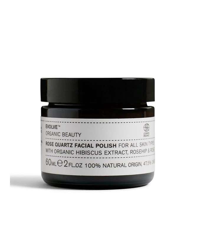 Exfoliant visage quartz rose BIO, Evolve (60 ml)