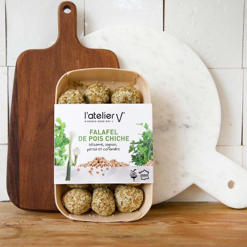 Falafels de pois chiche, sésame, oignon, persil et coriandre BIO, L'Atelier V (225 g)