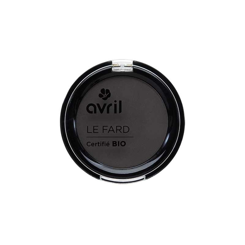 Fard à paupières gris anthracite mat certifié BIO, Avril (2,5 g)