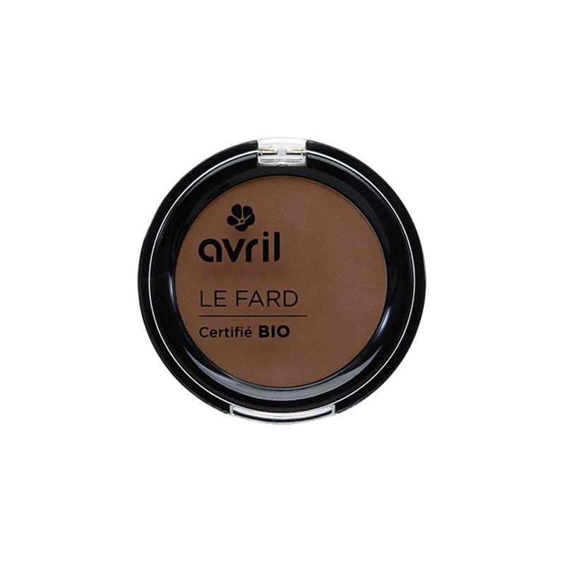 Fard à paupières cannelle mat certifié BIO, Avril (2,5 g)