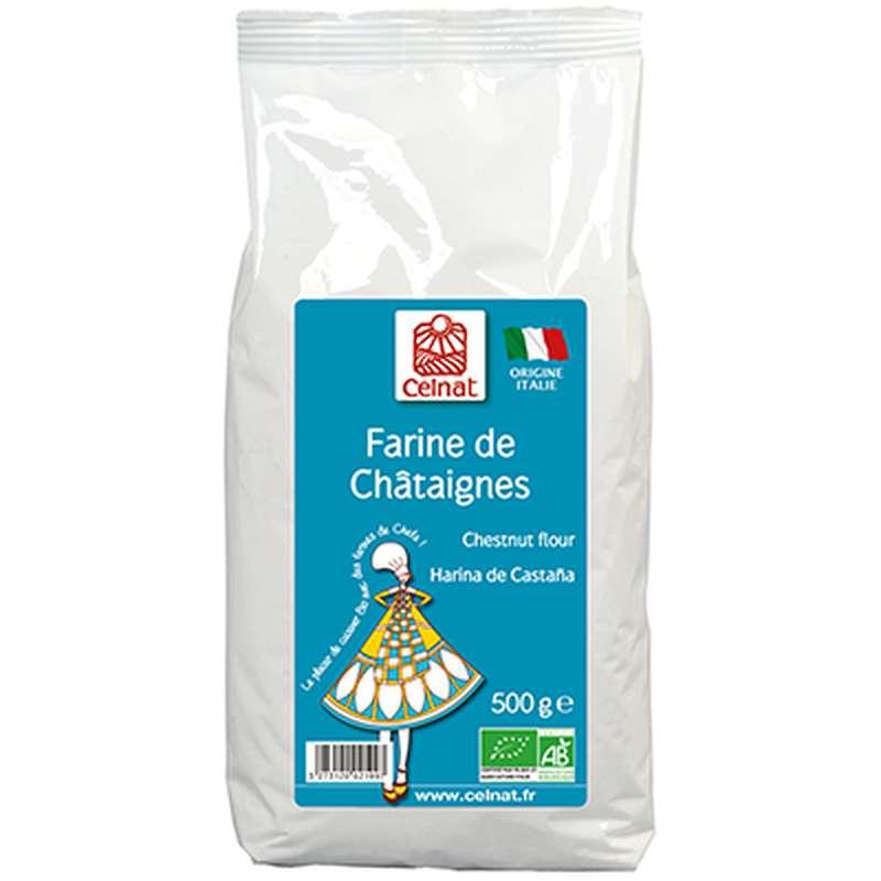 Farine de châtaignes It. BIO, Celnat (500 g)