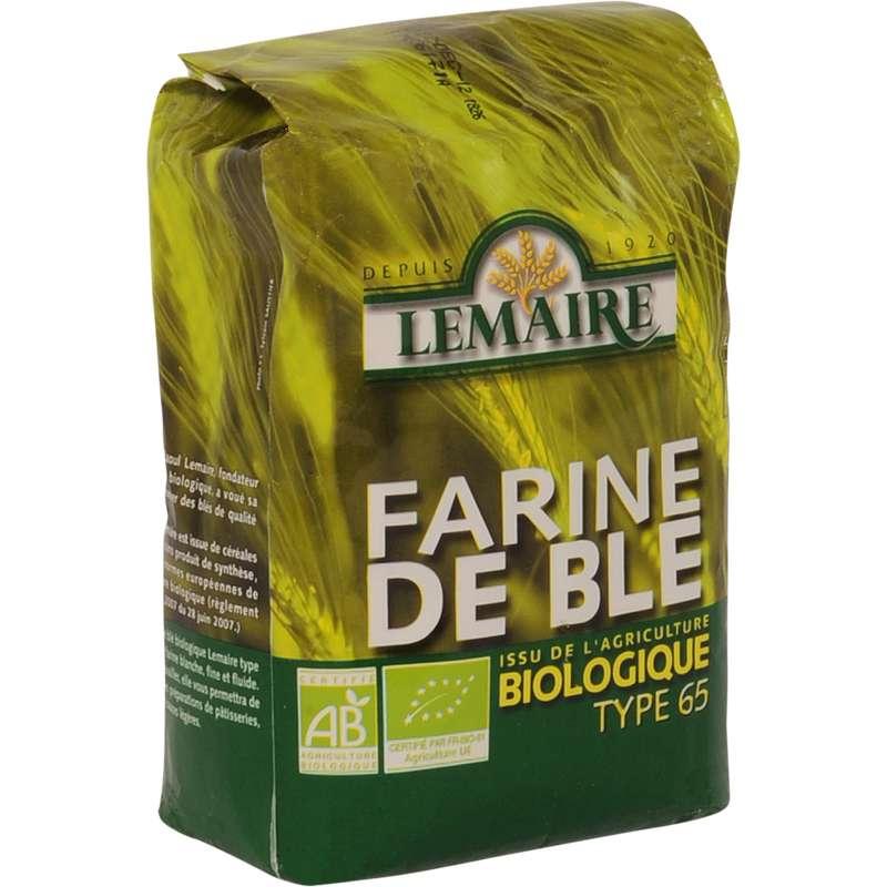 Farine de blé T65 BIO, Lemaire (1 kg)