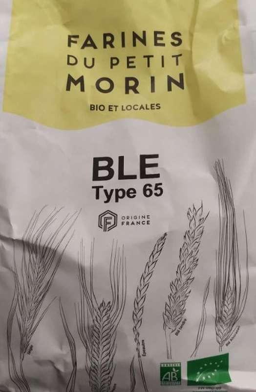 Farine de Blé du Petit Morin T65 BIO et locale de la Ferté sous Jouarre (1 kg)