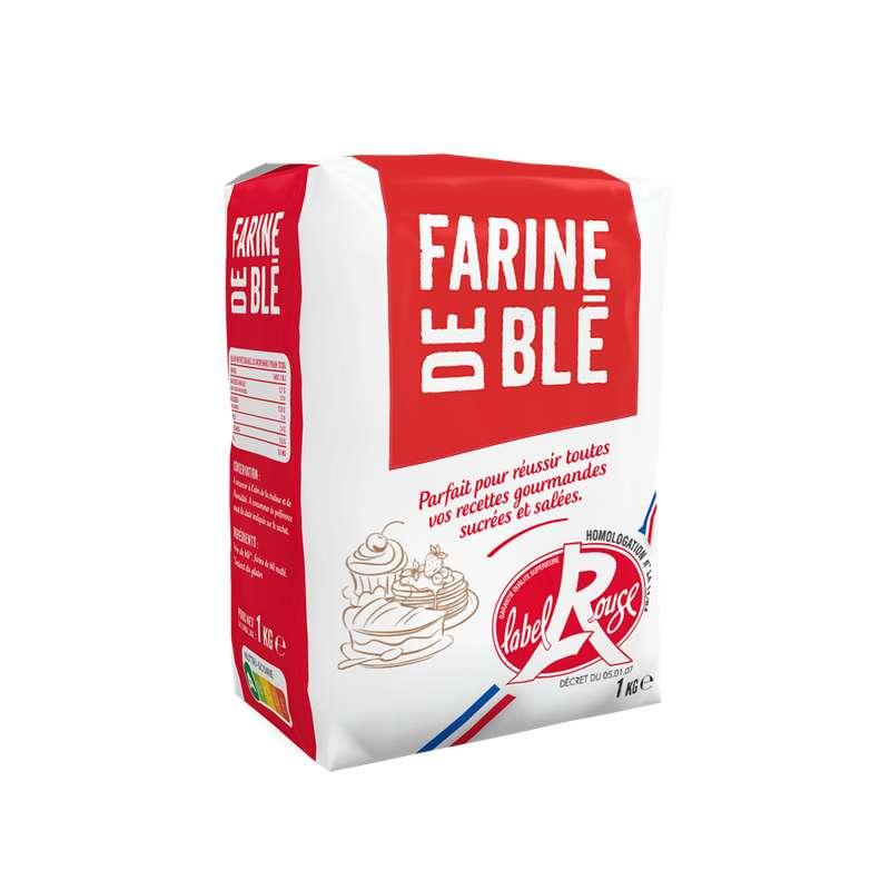 Farine de blé Label Rouge T65, La compagnie des farines (1 kg)