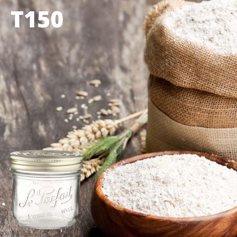 Farine de blé T150 BIO bocal consigné / 2,5€ récupérable (750 g)