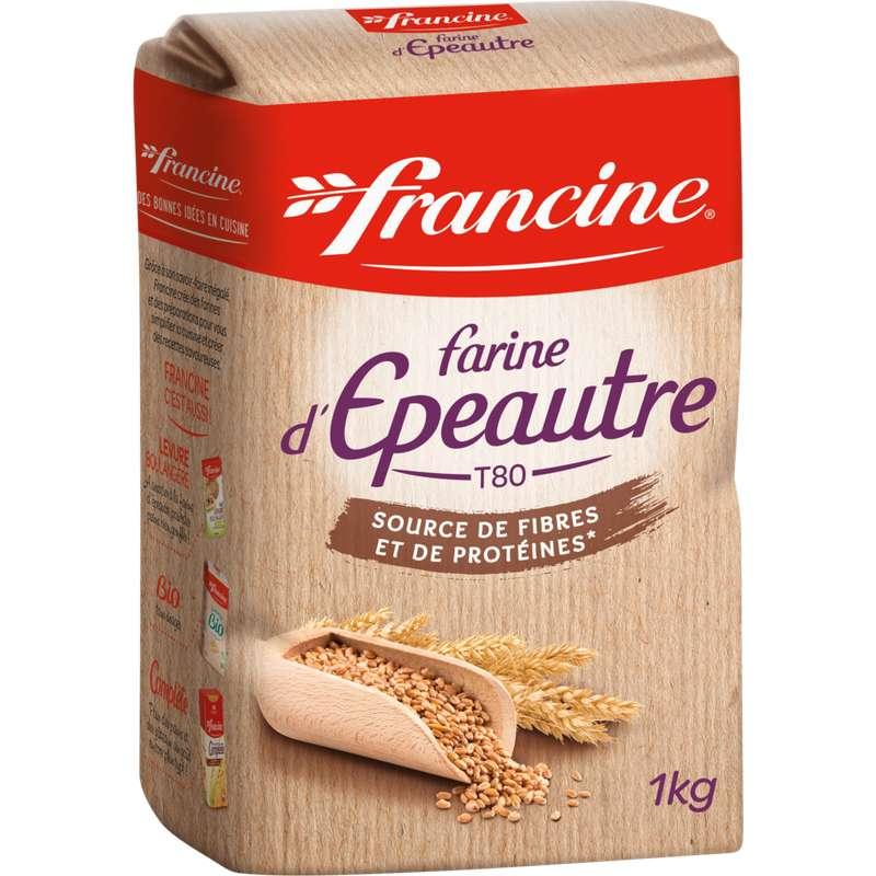 Farine tous usages à l'épeautre, Francine (1 kg)