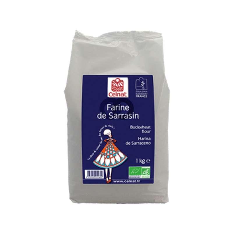 Farine de sarrasin BIO, Celnat (1 kg)