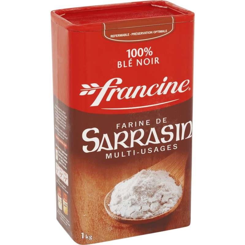 Farine de sarrasin multi-usage, Francine (1 kg)