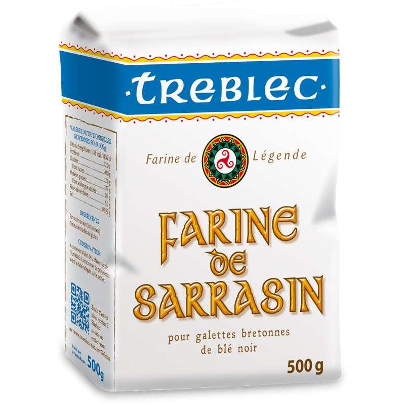 Farine de sarrasin, Treblec (500 g)