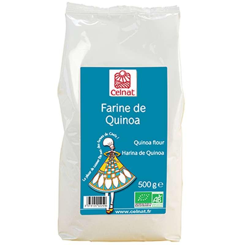 Farine de quinoa BIO, Celnat (500 g)