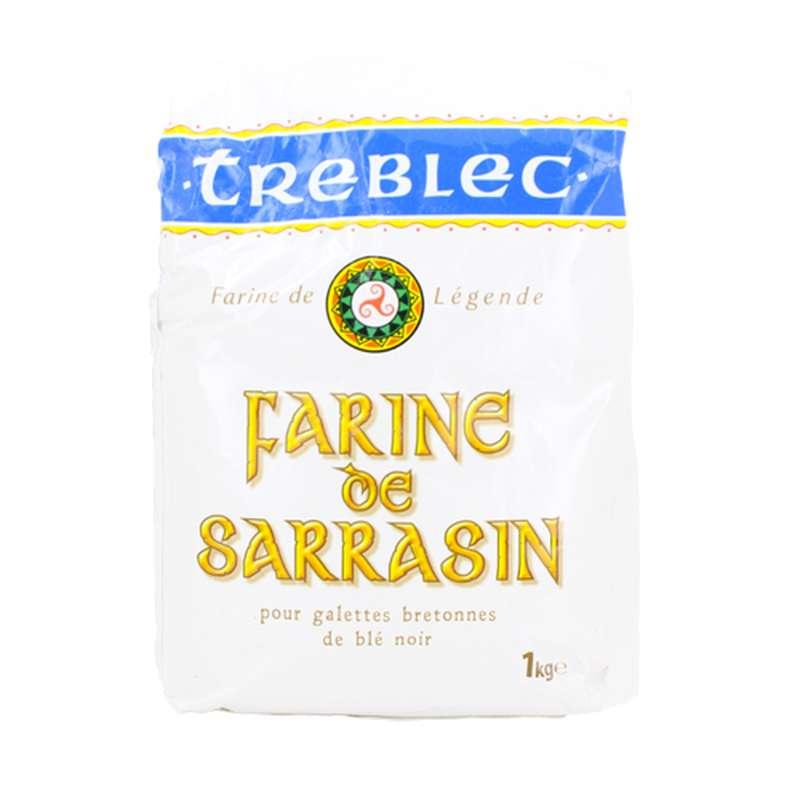 Farine de sarrasin (blé noir) Treblec (1 kg)