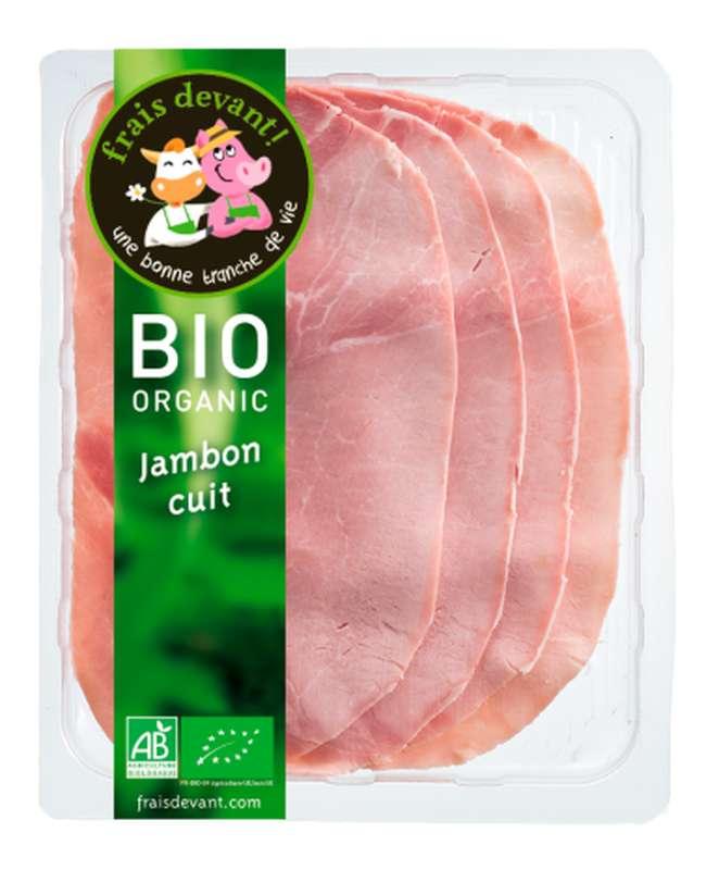 Jambon cuit BIO, Frais Devant (4 tranches, 120 g)