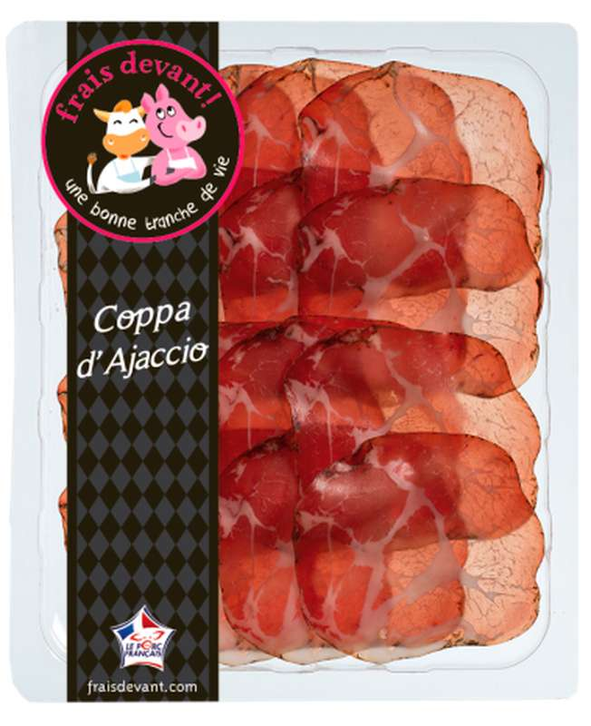 Coppa d'Ajaccio, Frais Devant (90 g)