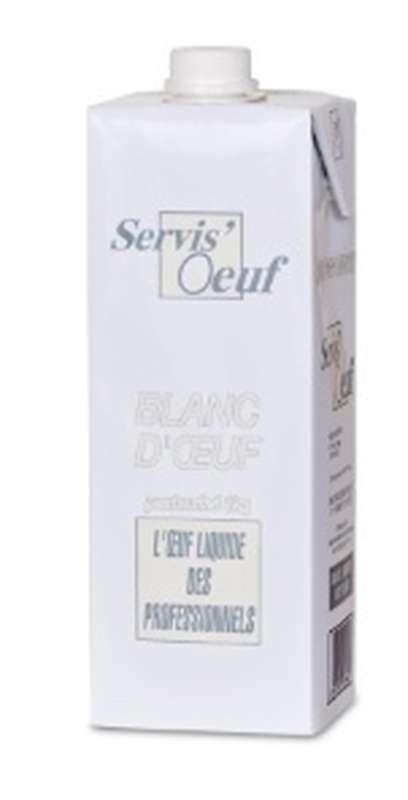 Blanc d'oeuf liquide (1 kg)