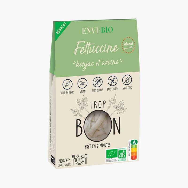 Fettuccine Konjac et avoine BIO, Envi-Bio (270 g)