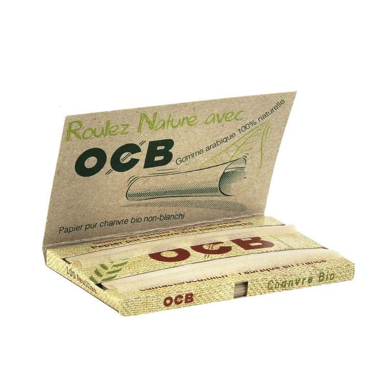 Feuilles à rouler Chanvre biodégradable, OCB (x100) (très petit calibre)