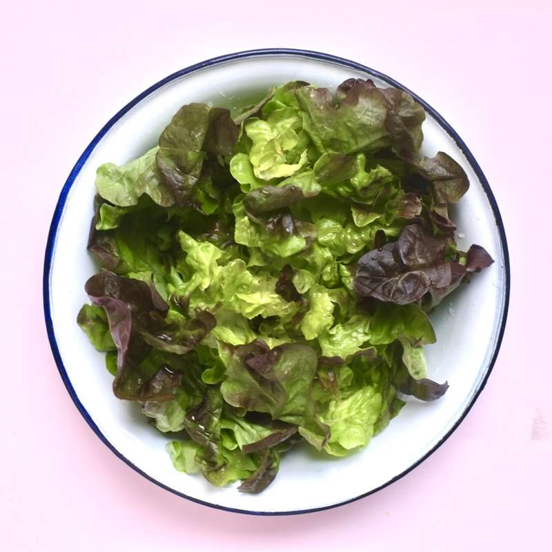Saladier de salade verte & tomates / à commander 48h à l'avance
