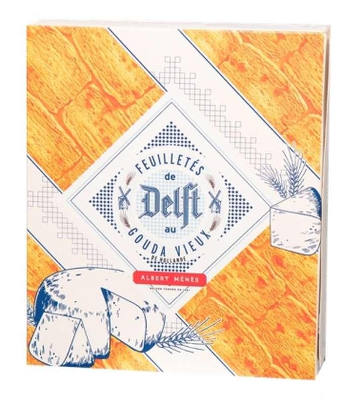 Feuilletés de Delft au gouda vieux de Hollande, Albert Ménès (150 g)