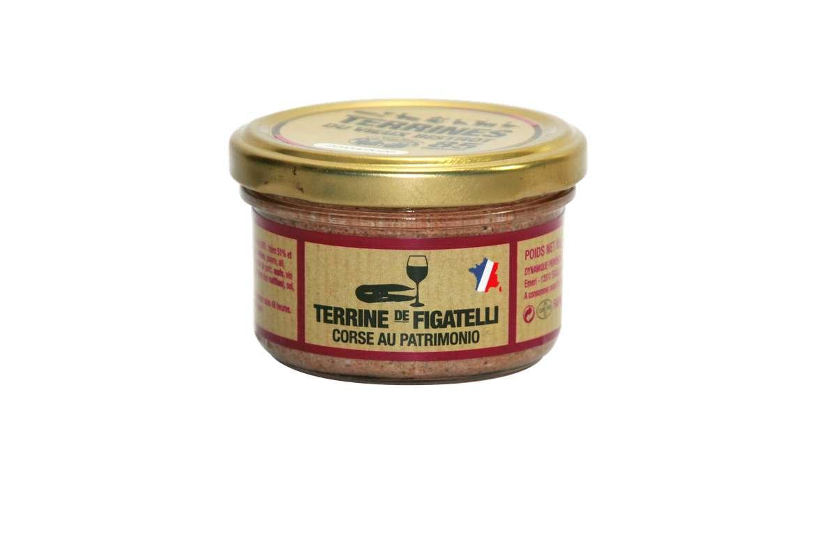 Figatelli Corse au Patrimonio, Le Vieux Bistrot (85 g)