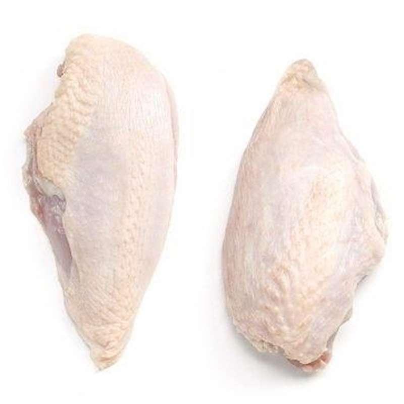 Filet de poulet fermier avec peau (x 2, 400 - 450 g)