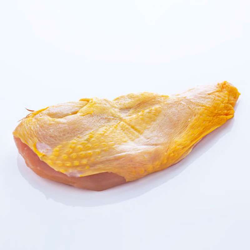Filet de poulet fermier de l'Aveyron, ferme de Quintard pour Maison Conquet (x 2, de 200 à 250 g)