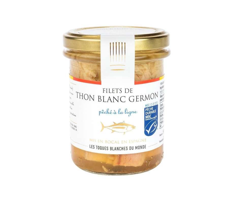 Filets de thon blanc Germon, Les Toques Blanches du Monde (190 g)