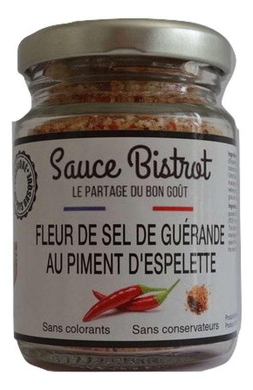 Fleur de sel au piment d'Espelette, Sauce Bistrot (90 g)