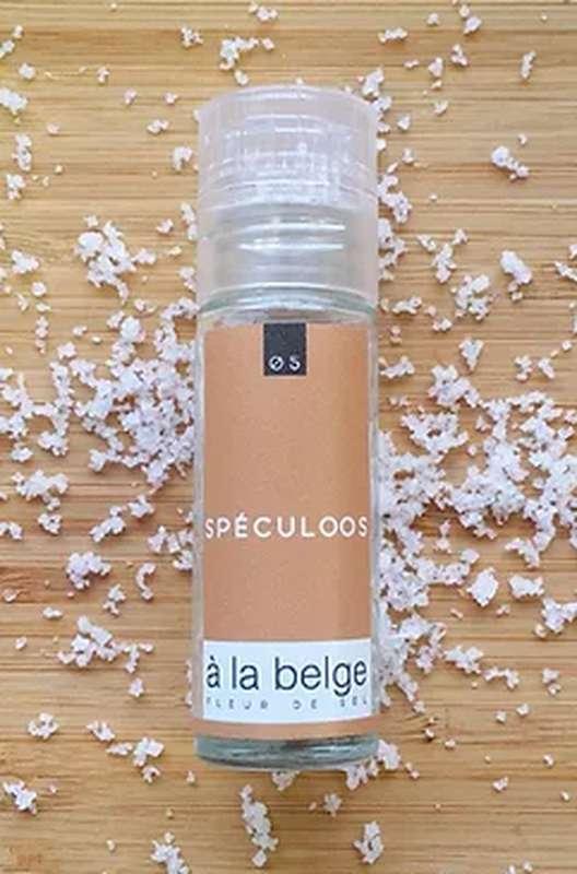 Fleur de sel au Spéculoos, À La Belge (30 g)