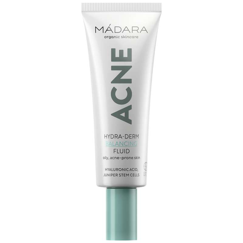 Fluide Équilibrant Hydra-Derme ACNE BIO, Madara (40 ml)