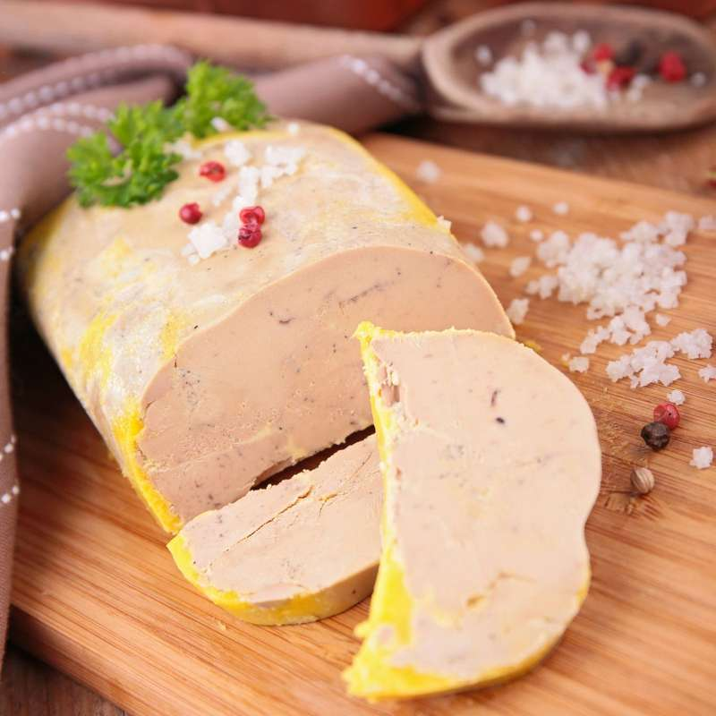 Foie gras de canard du Sud-Ouest au poivre, Le clos Saint Sozy (200 g)