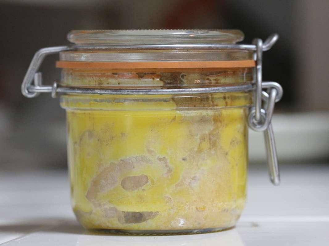 Foie gras d'oie du Sud-Ouest entier mi-cuit en bocal, Panache des Landes (80 g)