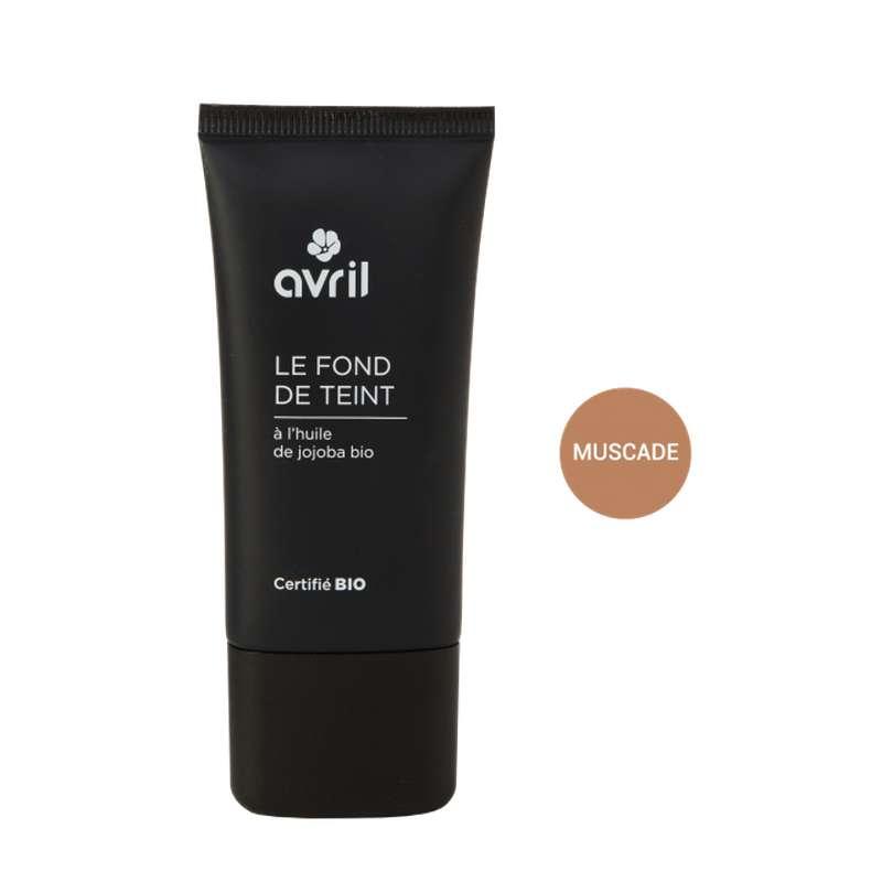 Fond de teint muscade certifié BIO, Avril (30 ml)