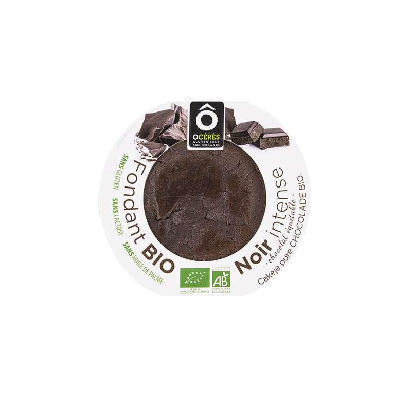 Fondant Chocolat Noir Intense BIO sans gluten, Ô Cérès (75 g)