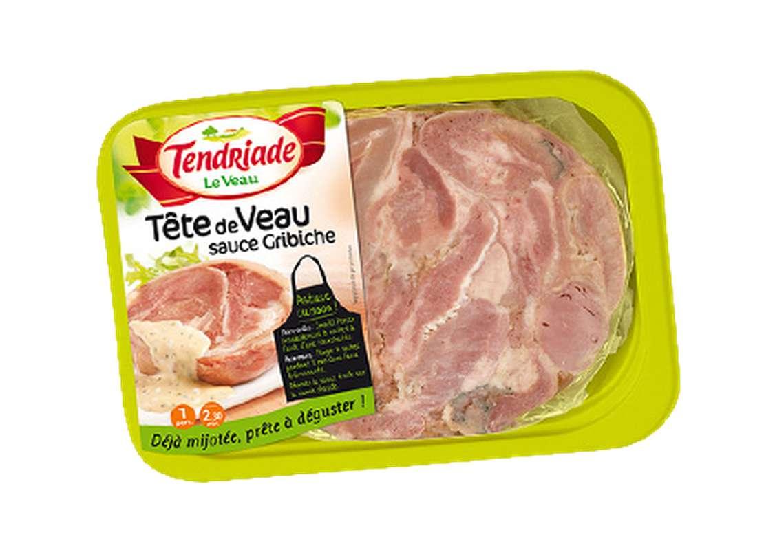 Tête de veau sauce gribiche, Tendriade (300 g)