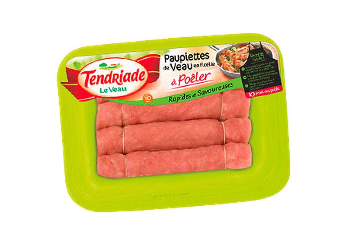 Paupiettes de veau en ficelle à poêler, Tendriade (4 x 105 g)