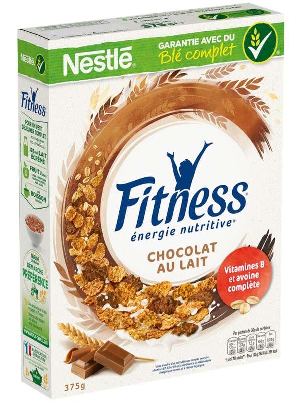 Céréales Fitness au chocolat au lait, Nestlé (375 g)