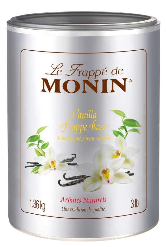 Frappé Vanille, Monin (1,36 kg)