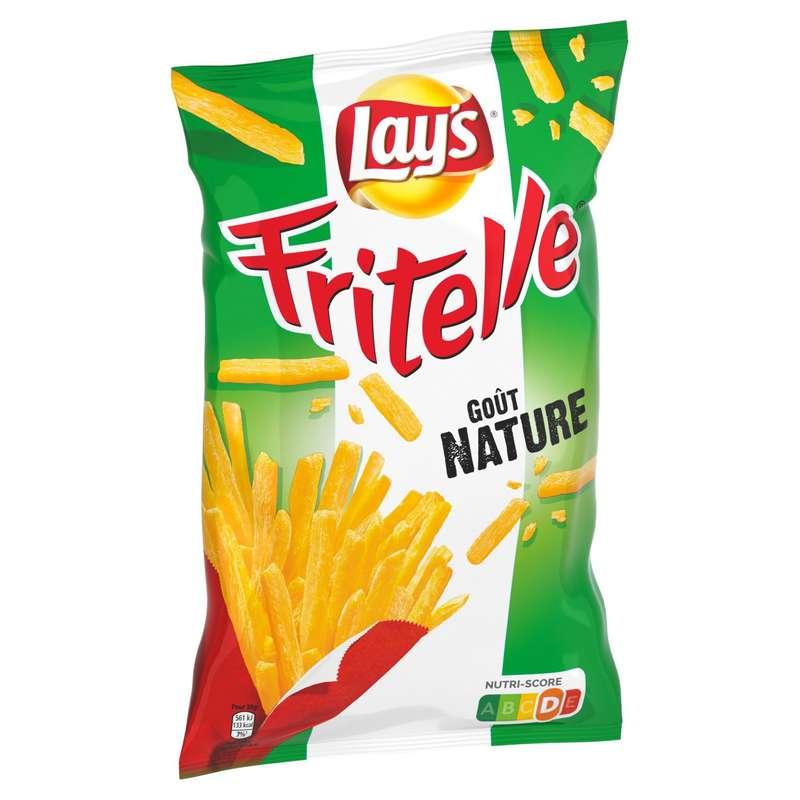 Fritelle nature salée, Lay's (80 g)