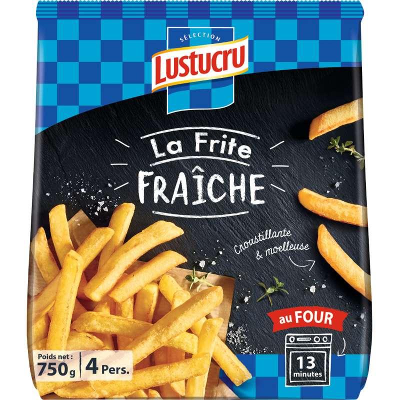 Frites fraîches, Lustucru (750 g)