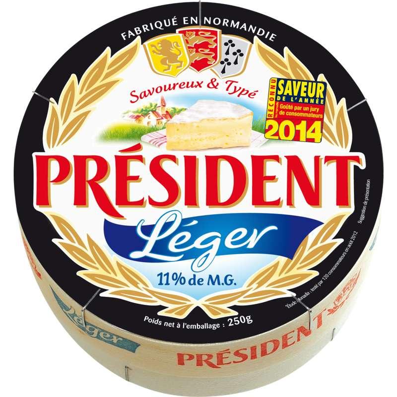 Fromage Président léger 11% de mg. (250 g)
