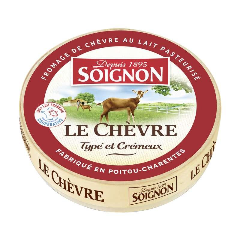Le Chèvre typé et crémeux 22% MG, Soignon (180 g)