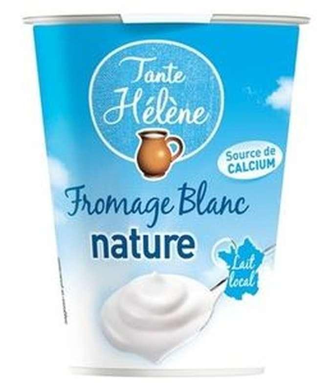 Fromage blanc nature BIO 3,5% MG, Tante Hélène (400 g)