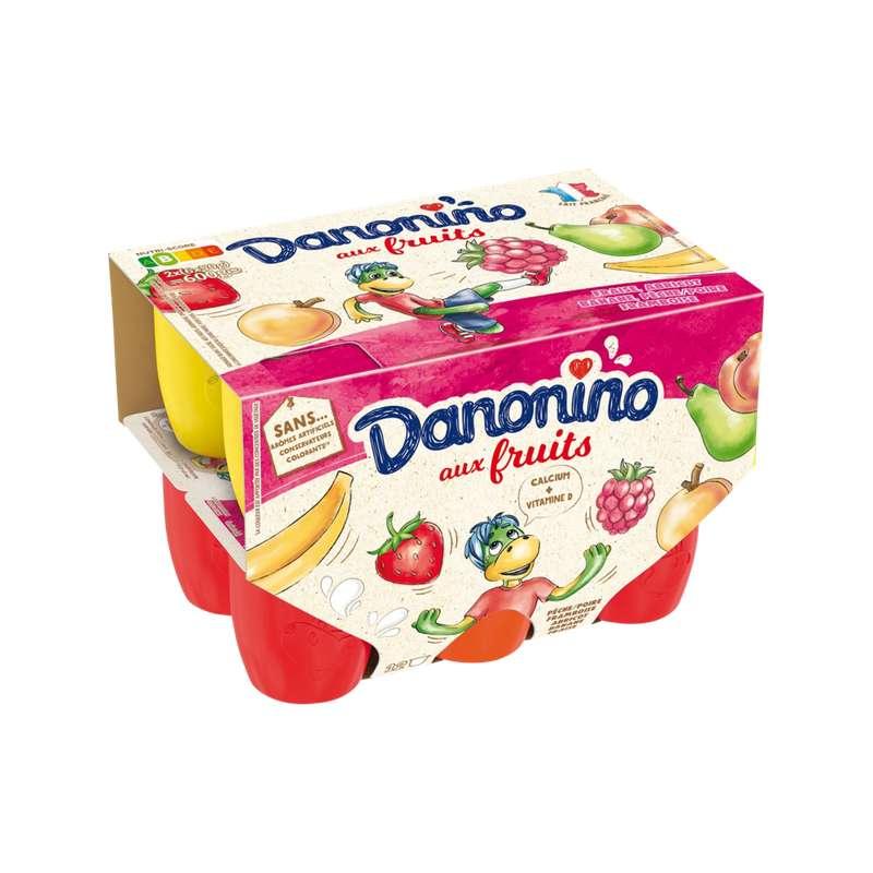 Danonino aux fruits panaché, Gervais (12 x 50 g)