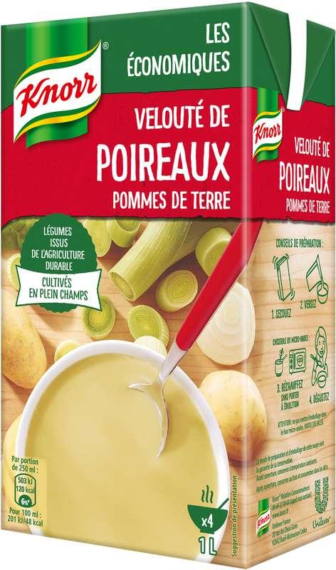 Velouté de poireaux et pommes de terre, Knorr (1 L)