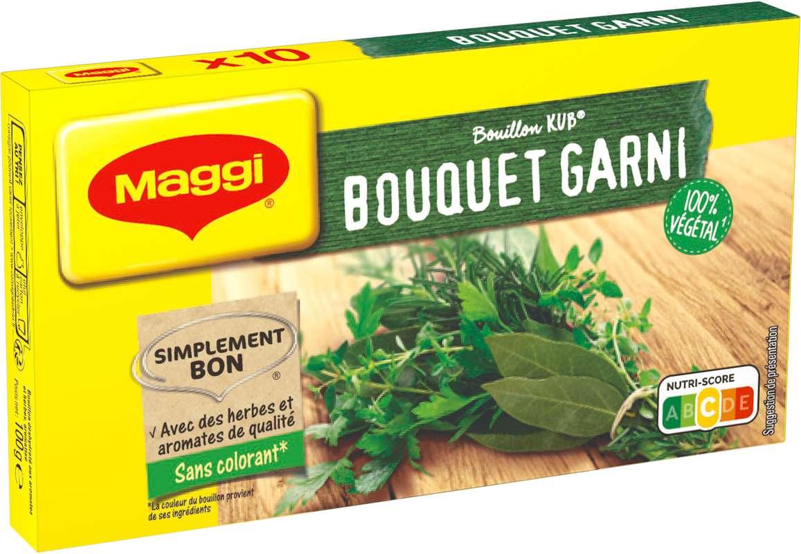Bouillon bouquet garni, Maggi (x 10, 100 g)